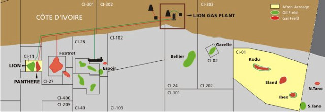Cote D Ivoire Oil And Gas Discoveries And Status Of